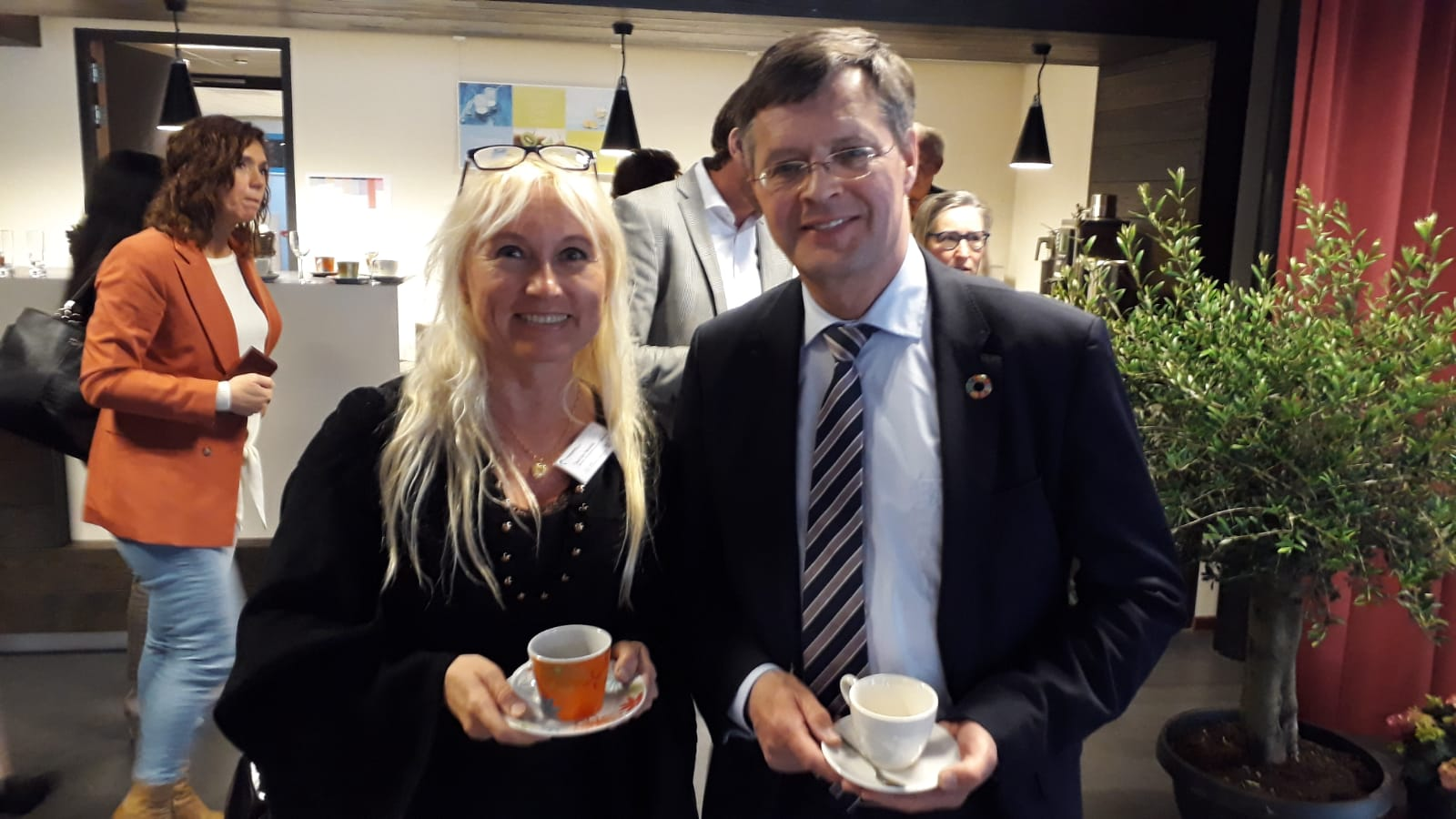 Balkenende en Tsarina taallessen